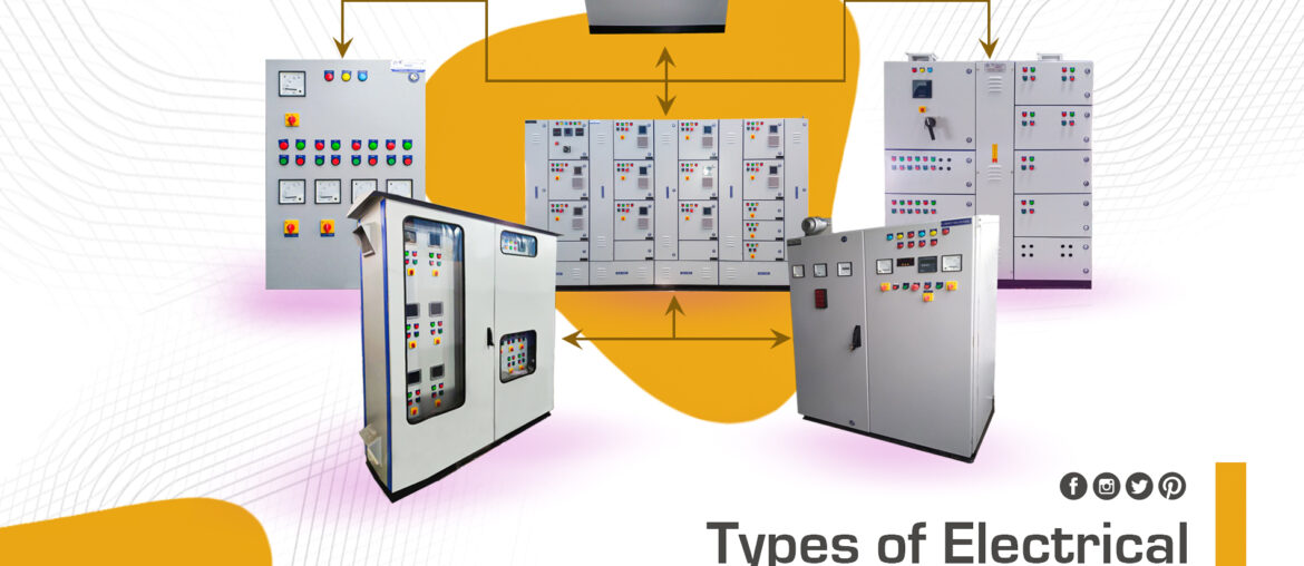 Types of electrical control panel
